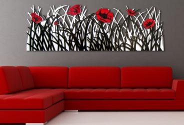 quadro moderno fiori
