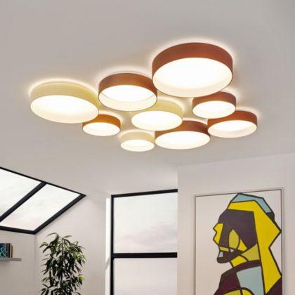Come scegliere tra una plafoniera led e una lampada da for Lampade a led grandi