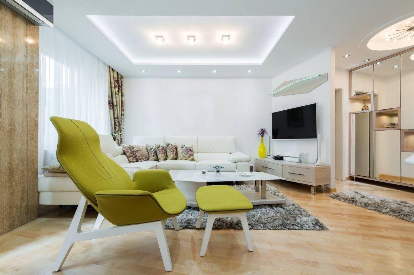 Plafoniere Led Da Interno : Come scegliere tra una plafoniera led e lampada da soffitto