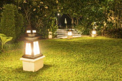 Lampioni da giardino offerte illuminazione per giardino pali per