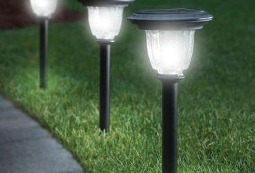Illuminazione per esterni mazzola luce
