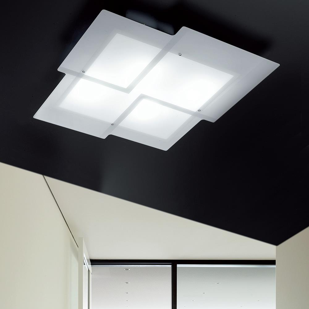 Illuminare la casa utilizzando le plafoniere moderne for Plafoniere moderne