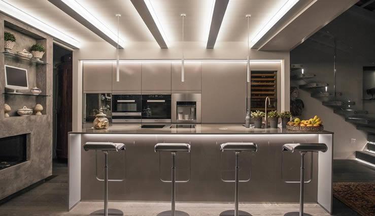 strip led cucina mazzola luce